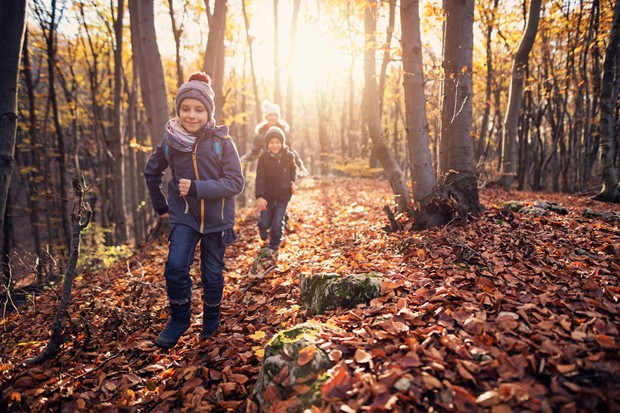 National GetOutside Day is a great excuse to get younger members of the family outside and engaged in nature. ©Getty