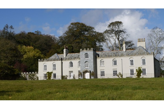 Country house and grounds