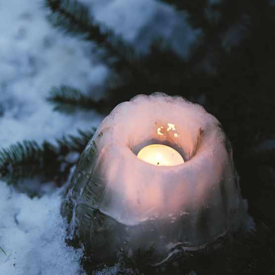 Christmas crafts: Ice Lantern