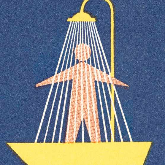 Shower illustration
