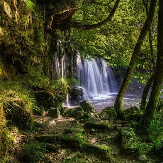 Brecon Beacons waterfall, Wales