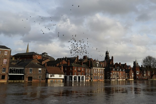 Storm Dennis Causes Flooding In The UK