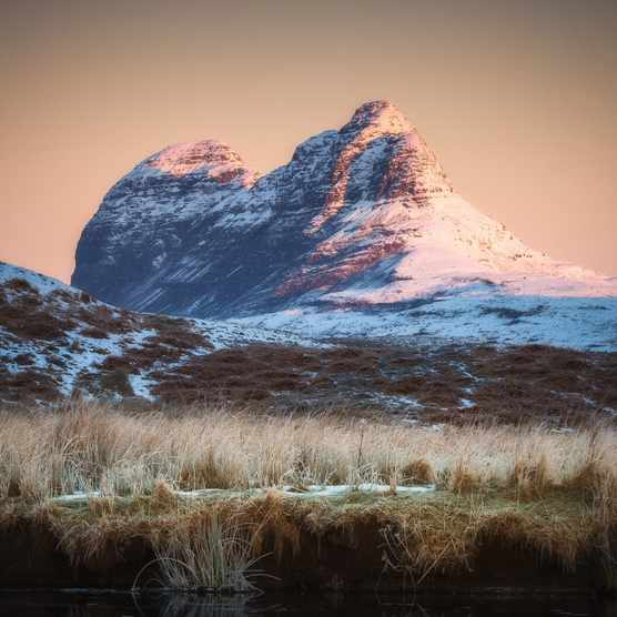 Suilven in winter, Assynt, Scotland