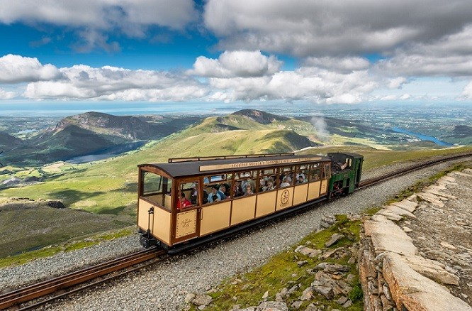 Snowdon Mountain Railway - Advertisement