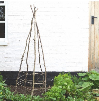 How to make a plant wigwam - Countryfile.com