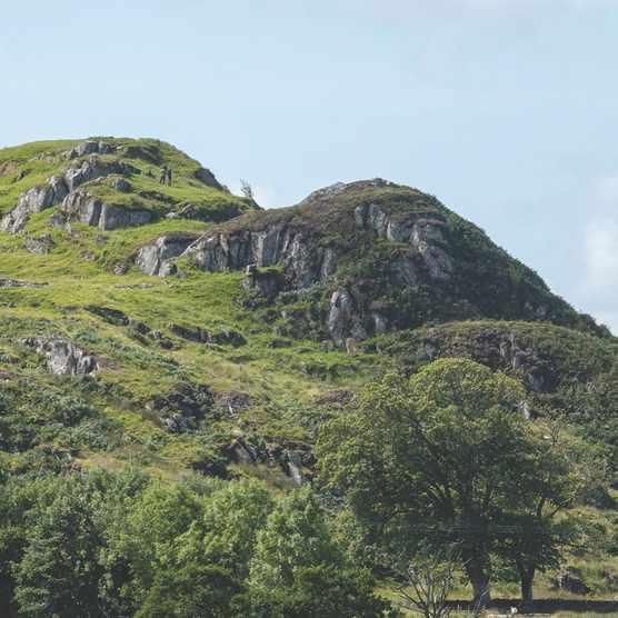 Dunadd Fort, Kilmartin Glen, Argyll, Scotland