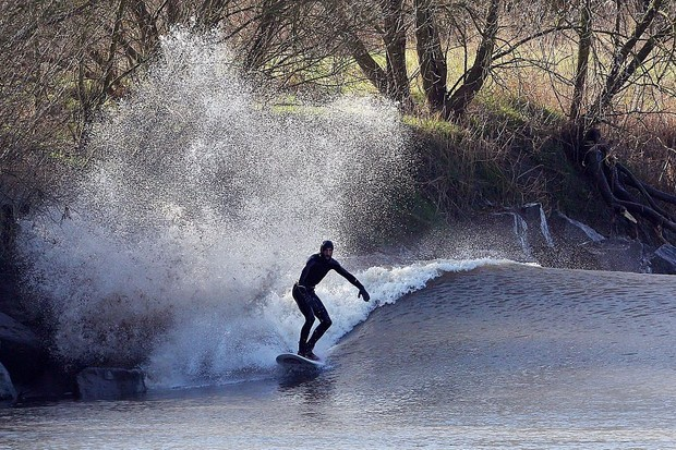 A dramatic encounter with the Severn Bore on an atmospheric walk beside Britain's longest river