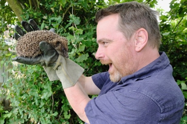 Hugh Warwick is an ecologist and conservationist who is passionate about hedgehogs © Zoe Broughton