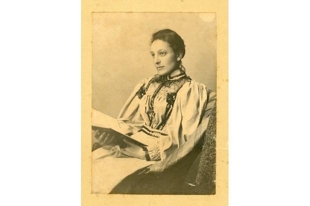Portrait of Margaretta Lemon, Hon Secretary between 1892-1903 and founding member of the RSPB