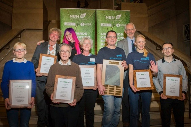UK Awards for Biological Recording & Information Sharing.  Picture by Mark Hawkins for NBN.