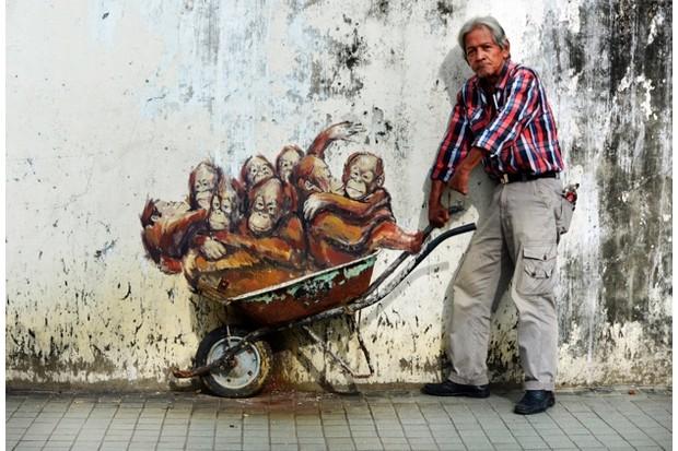 Kuching Graffiti