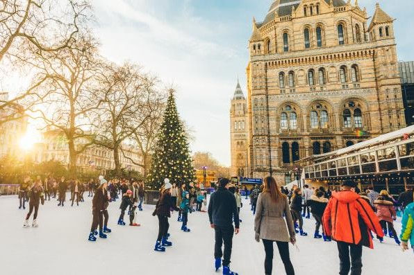 NHM ice rink. © Trustees of the Natural History Museum
