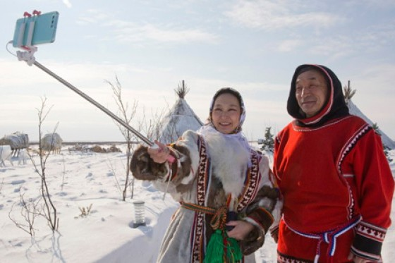 Nenets take a selfie. © Horniman Museum and Gardens