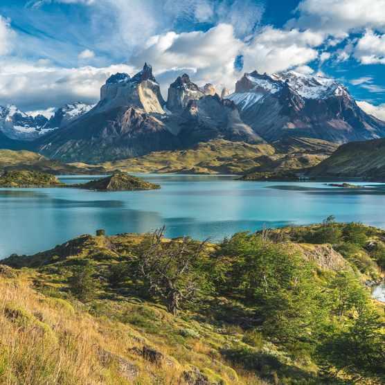 Torres del Paine National Park in Patagonia, Chile. © Alexandr Berdicevschi/Getty
