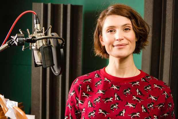Gemma Arterton voices Clover in Watership Down. © BBC/Guy Levy
