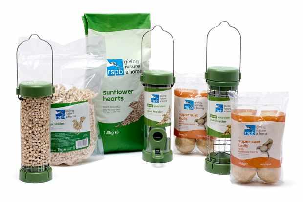 The Big Garden Birdwatch starter kit.