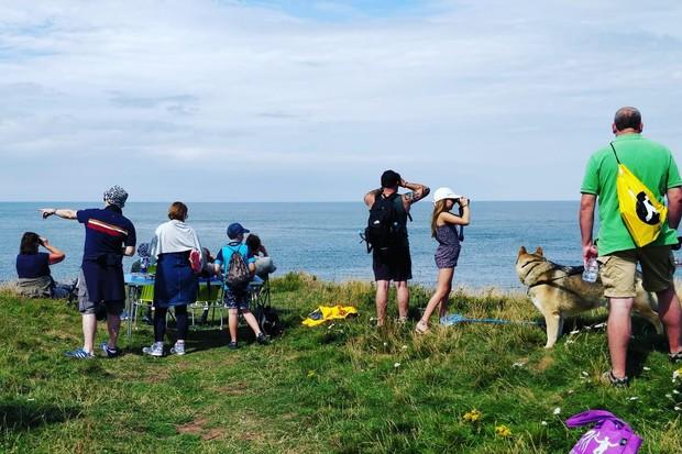 Volunteers at Eyemouth Fort. © Eyemouth Voluntary Marine Reserve