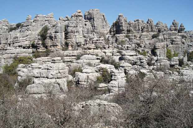 You will visit El Torcal, a UNESCO World Heritage Site.