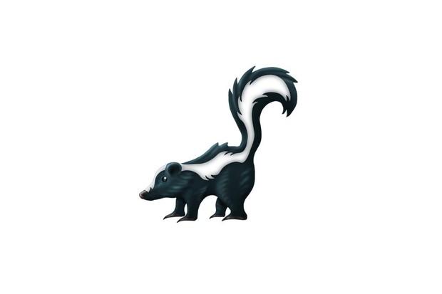 Skunk emoji. © Unicorde Consortium