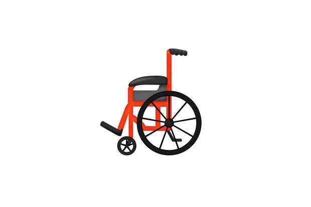 Manual wheelchair emoji. © Unicorde Consortium
