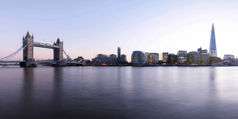 Tower Bridge, City Hall and the Shard. © Shomos Uddin/Getty