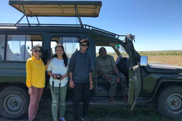 2Client with Titus - kenya expresso tours and safaris