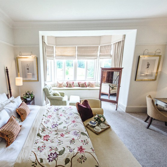 Lords Room at the Lord of the Manor hotel