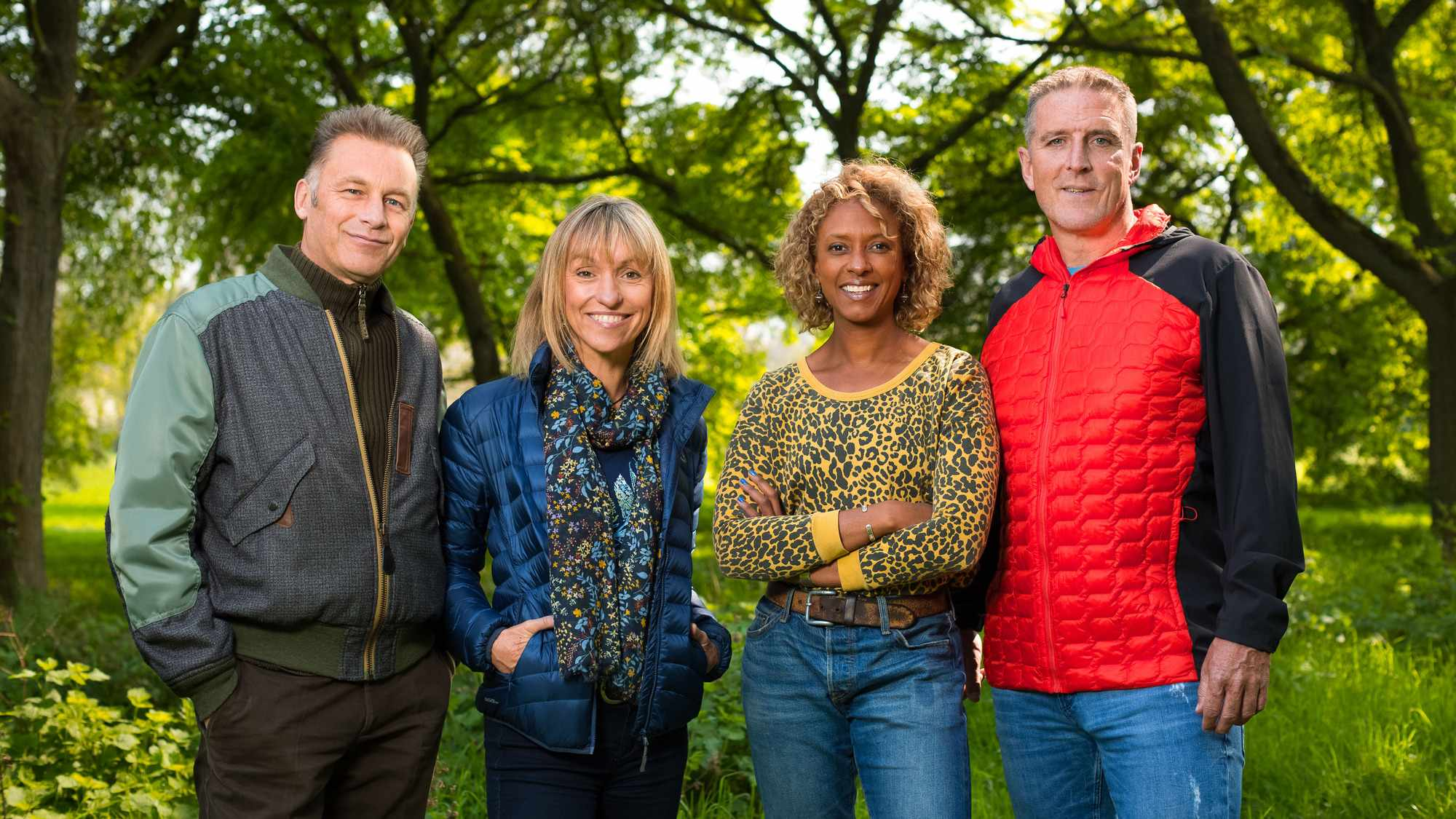 Springwatch presenters. © Jo Charlesworth/BBC