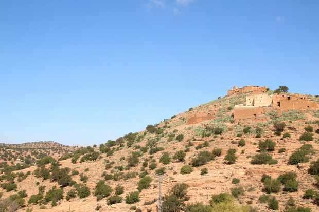 Anti Atlas scenery, near Ait Baha, Morocco. © Philip Precey/Wildlife Travel