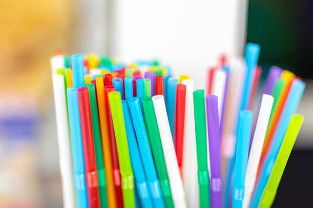 Plastic straws. © Kyryl Gorlov