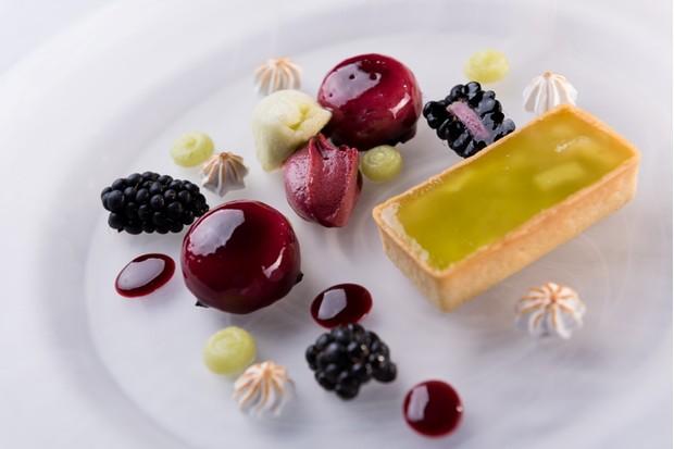 Dessert at Olivier's Restaurant.