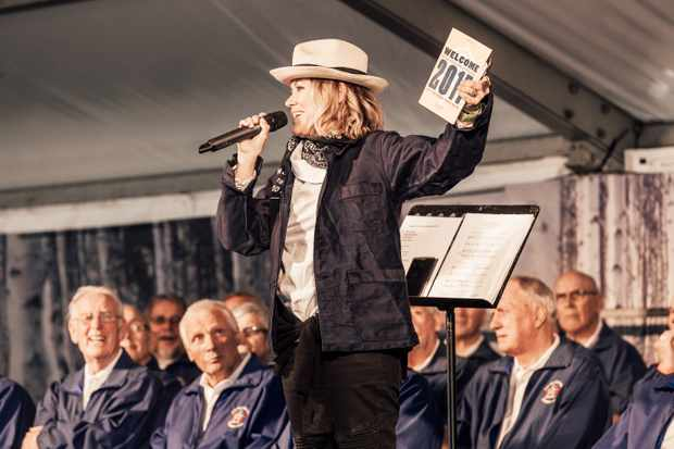 Cerys Matthews at The Good Life Experience. © Paul Johnson