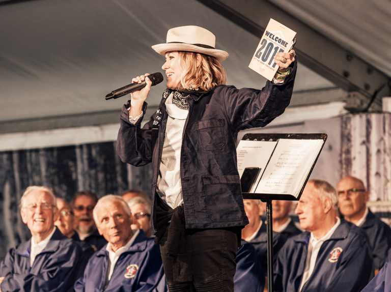 Win a family pass to The Good Life Experience, and a signed book by Cerys Matthews