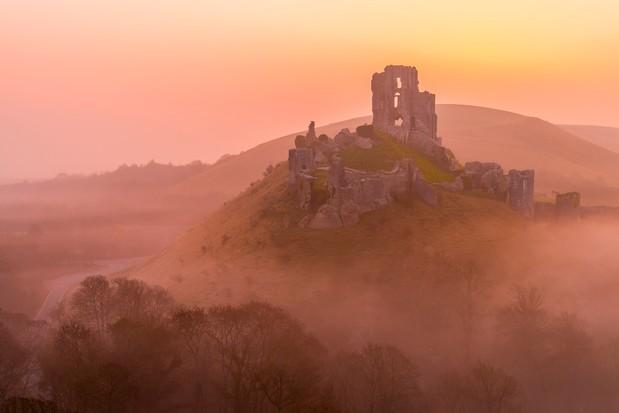 Corfe Castle. © Robert Harding/Getty