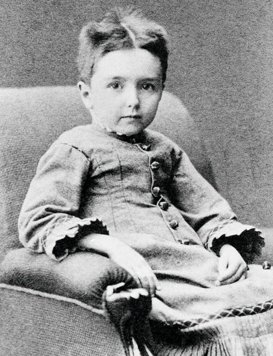 UNSPECIFIED - MAY 19: Portrait of Jan Sibelius as a child (Hameenlinna, 1865-Jarvenpaa, 1957), Finnish composer and violinist. Turku, Sibelius Museo/Sibelius Museet (Photo by DeAgostini/Getty Images)