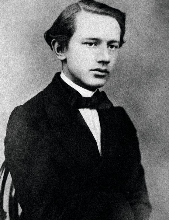 (Eingeschränkte Rechte für bestimmte redaktionelle Kunden in Deutschland. Limited rights for specific editorial clients in Germany.) Tchaikovsky, Pyotr - Composer, Russia - *07.05.1840-06.11.1893+ - 1863  (Photo by Elizaveta Becker/ullstein bild via Getty Images)