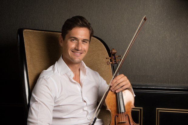 English violinist Charlie Siem, portrait, United Kingdom, 2017. (Photo by Tim Roney/Getty Images)