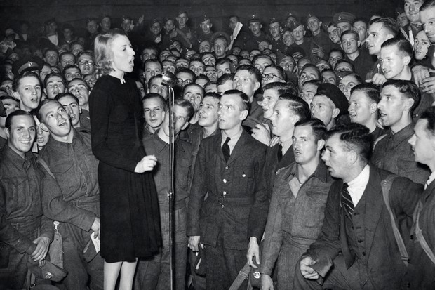 What were the most popular songs during World War II?