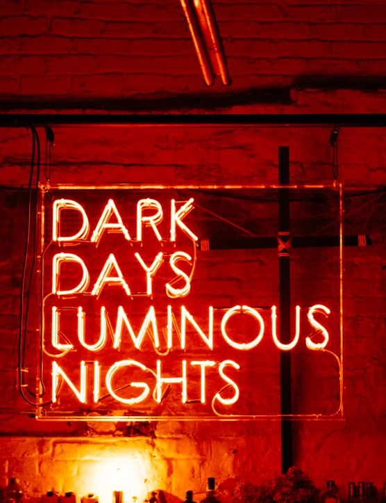 1. Dark Days, Luminous Nights at The White Hotel, Salford. Photo by Drew Forsyth © Manchester Collective