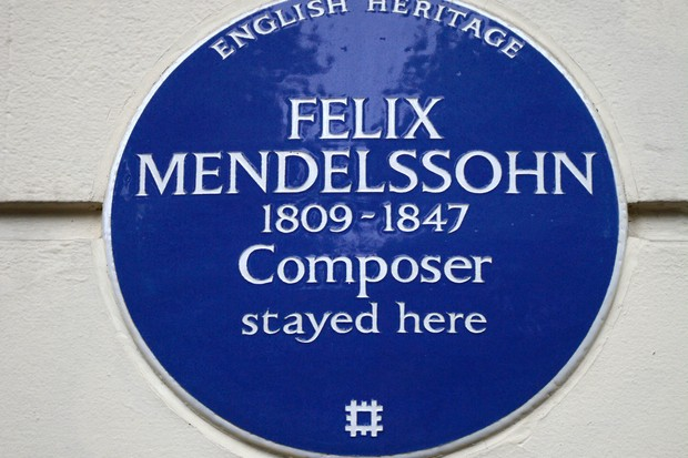 Where are the best blue plaques for composers and musicians in the UK?