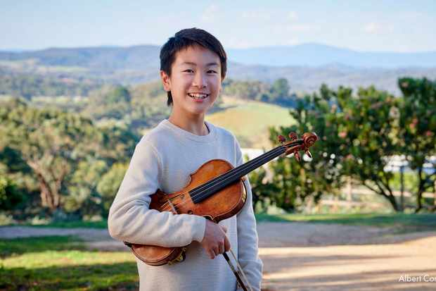 Youngest artist ever to record Vivaldi's Four Seasons