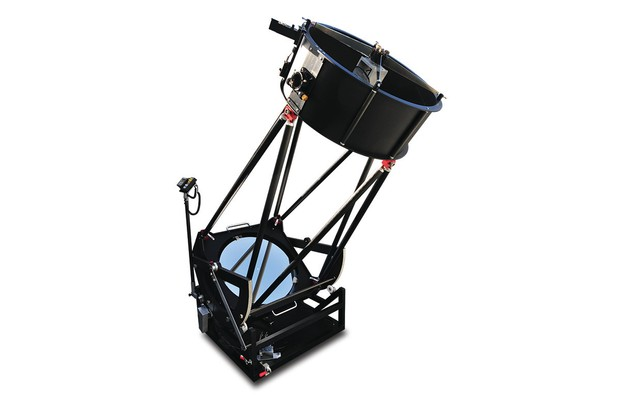 Full length shot of the SkyVision 24-inch T600 Compact Go-To Dobsonian