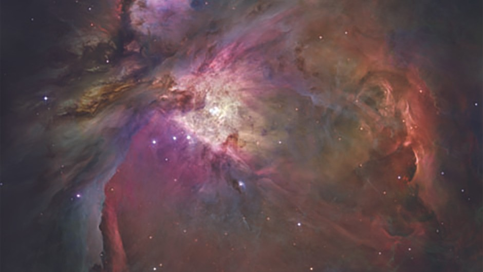 In the Orion Nebula, dust grains might have life-like properties. Credit: NASA