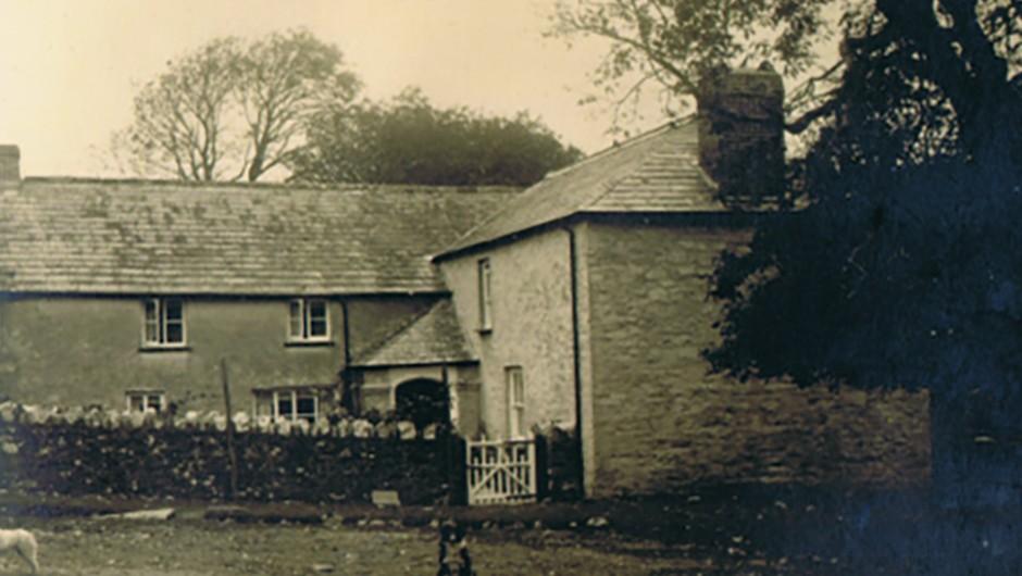 Lidcott Farm near Launceston, Cornwall, birthplace of John Couch Adams. Credit: Brian Sheen