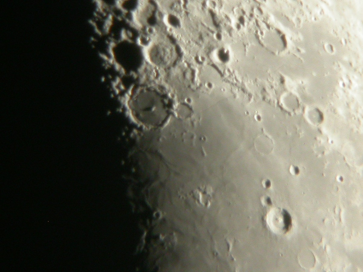 The southern edge of Mare Nubium, captured in the same method as the images above. Credit: Ade Ashford.