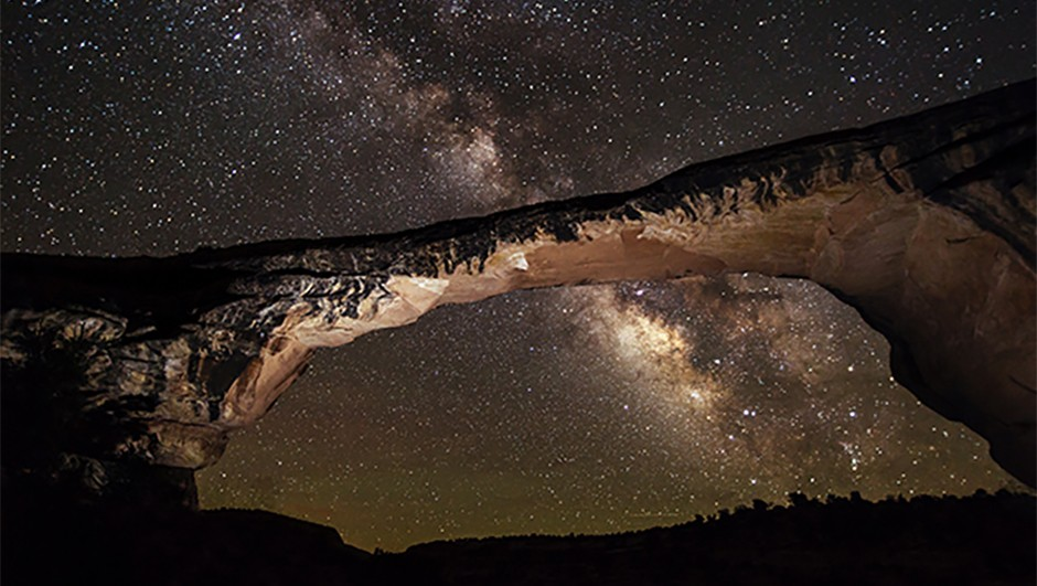 How about a pre-eclipse road trip via Utah's Dark Sky Parks? © NPS