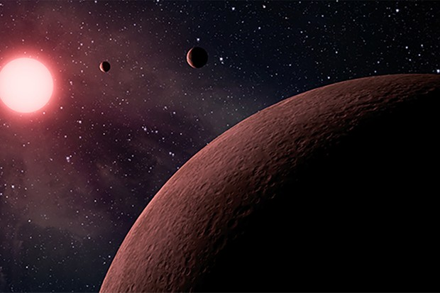 An artist's impression of exoplanets in orbit around a star. Credit: NASA/JPL-Caltech