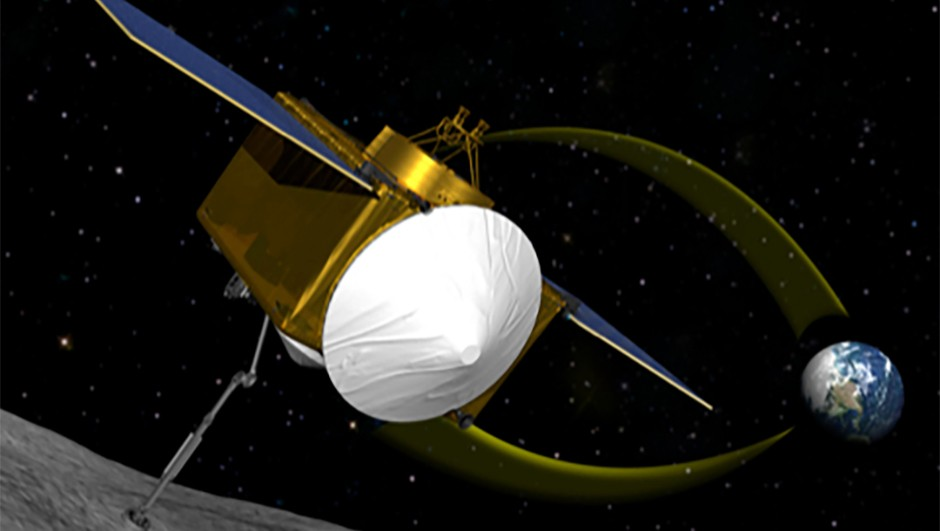 OSIRIS-REX is due to launch in 2016, and to start collecting samples in 2019. (Image Credit: NASA/Goddard/Uni. of Arizona)