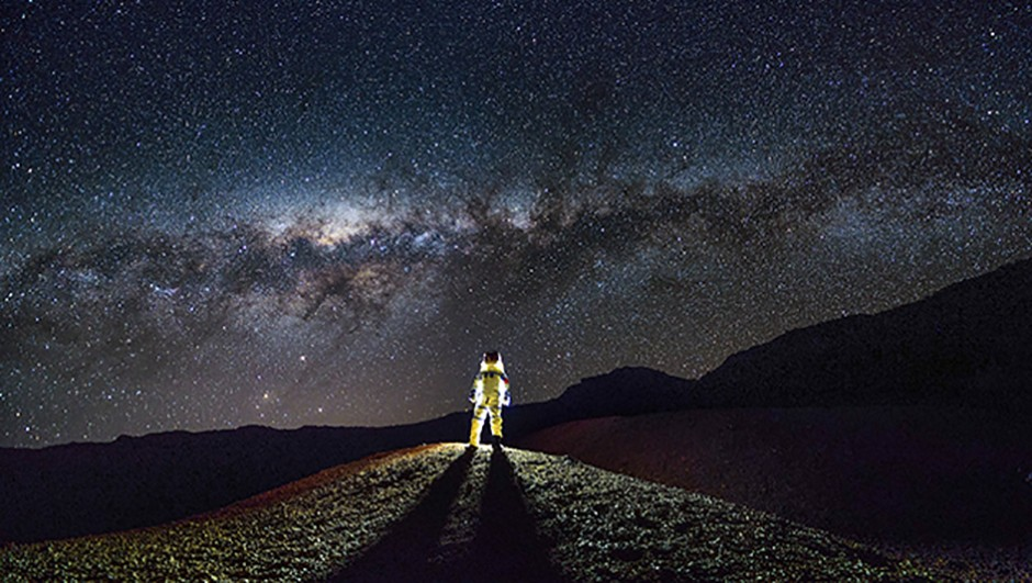 Fu Dingyan's image Interstellar Travel was highly commended in the 2017 competition. Credit: Fu Dingyan