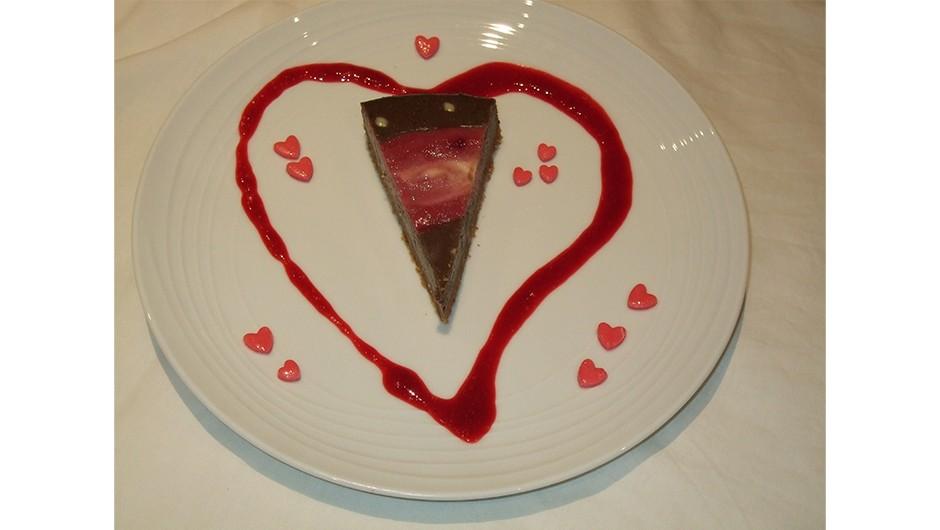 HNC slice on plate